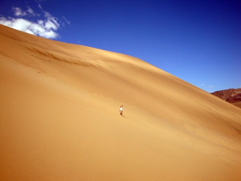 По другой легенде под песками бархана
